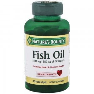 Рыбий жир Nature's Bounty Fish Oil 1400 mg, 30 капсул