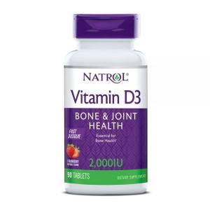 Natrol Vitamin D3 (Витамины Д3) 2000 МЕ, 90 таб