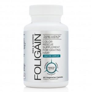 Витамины Foligain для седых волос