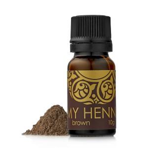 "Хна для окраски бровей ""My Henna"" (коричневая) 10 гр."