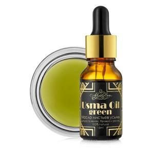 """Масло листьев усьмы """"Usma Oil green"""" 15 мл."""