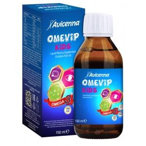 Сироп для детей с Омега-3 и витаминами со вкусом манго и ванили, Авиценна OmeCap, 150 мл