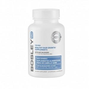 Комплекс витаминно-минеральный для оздоровления и роста волос - для Мужчин Bosley, 60 капсул