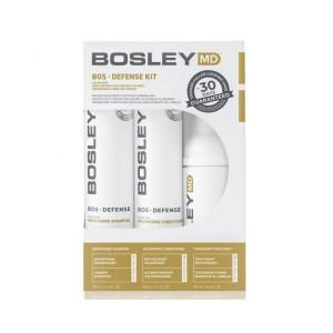 Система для предотвращения истончения и выпадения волос Bosley MD (шампунь, кондиционер, уход)