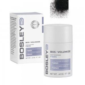 Волокна кератиновые (черные) Bosley MD, 12 гр