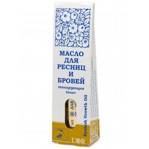 Масло косметическое для ресниц и бровей тонирующее L'Or, 12 мл