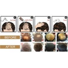 Купить Загуститель для волос Fully (темно-коричневый), 23 гр фото 4
