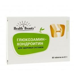 "Купить Глюкозамин-Хондроитин – для здоровья суставов, ""Health & Beauty"", 60 таблеток фото"