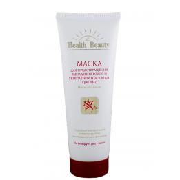"""Купить Маска несмываемая для предотвращения выпадения волос и укрепления волосяных луковиц, """"Health & Beauty"""", 125 мл фото"""