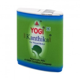 Купить Гранулы от воспаления горла Yogi Kanthika 70шт фото
