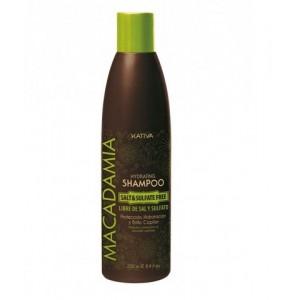 Интенсивно увлажняющий шампунь для нормальных и поврежденных волос Macadamia, Kativa, 250 мл
