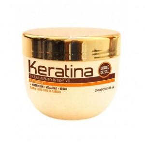 Интенсивно восстанавливающий уход с кератином для поврежденных и хрупких волос Keratina, Kativa, 250 мл