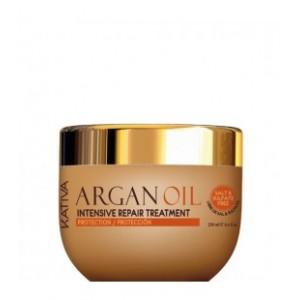 Интенсивно восстанавливающий увлажняющий уход-маска с маслом Арганы для волос ARGAN OIL, Kativa, 250 мл