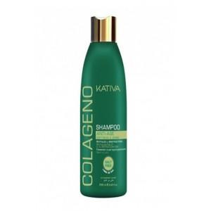Коллагеновый шампунь для всех типов волос Colageno, Kativa, 250 мл
