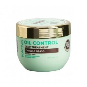 """Маска интенсивный уход для жирных волос """"Контроль"""", Oil Control, Kativa, 250 мл"""