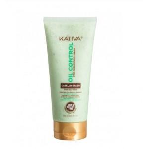 """Маска перед мытьем шампунем для жирных волос """"Контроль"""", Oil Control, Kativa, 200 мл"""