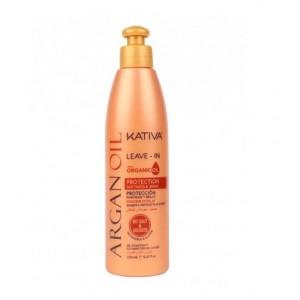 Несмываемый оживляющий концентрат для волос с маслом Арганы ARGAN OIL, Kativa, 250 мл