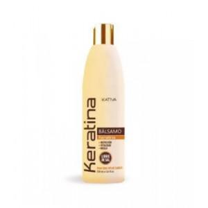 Укрепляющий бальзам-кондиционер с кератином для всех типов волос Keratina, Kativa, 250 мл