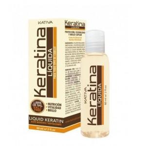 Жидкий кератин для волос Keratina, Kativa, 60 мл