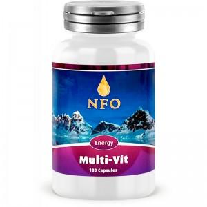 NFO Мульти-Вит, 180 капсул