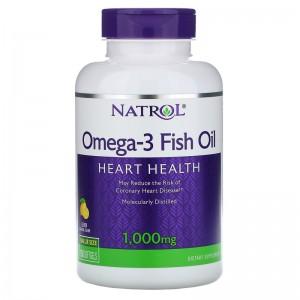 Natrol Omega-3 Fish Oil 1000 мг 150 капсул