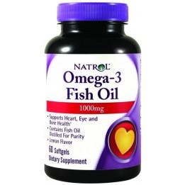 Купить Natrol Omega-3 Fish Oil 1000 мг 60 капсул фото