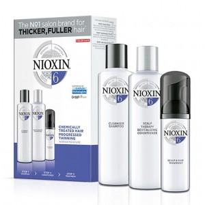 Набор Система 6 Nioxin XXL для химически обработанных истонченных волос (шампунь, кондиционер, маска)