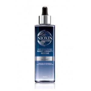 Ночная сыворотка для увеличения густоты волос Nioxin 3D Интенсивный уход, 70 мл