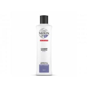 Очищающий шампунь 5 Nioxin для химически обработанных волос с тенденцией к истончению, 300 мл
