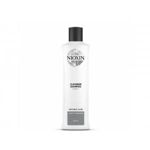 Очищающий шампунь Система 1 Nioxin для натуральных волос с тенденцией к истончению, 300 мл