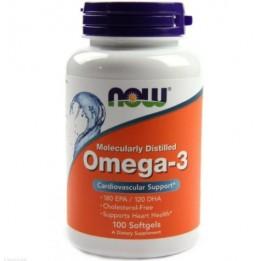 Купить Now Foods OMEGA-3 1000 мг 100 капсул фото