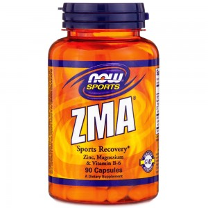 Now Foods ZMA 800 мг 90 капсул