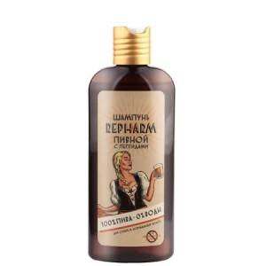 """Шампунь пивной для сухих и нормальных волос с пептидами """"Repharm"""", 250 мл"""