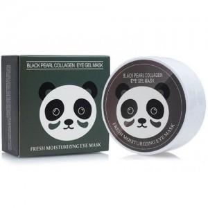 Гидрогелевые патчи с экстрактом черного жемчуга и коллагеном Sersanlove Black Collagen Eye Gel Mask, 90г/60шт