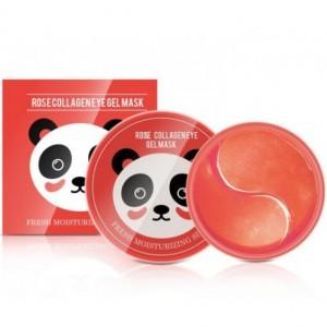 Гидрогелевые патчи с экстрактом розы и коллагеном Sersanlove Rose Collagen Eye Gel Mask, 90г/60шт