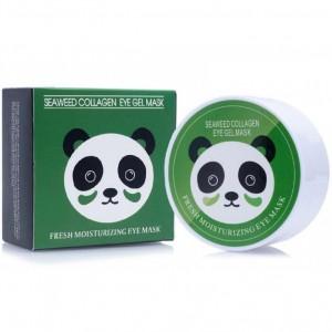 Гидрогелевые патчи с экстрактом водорослей и коллагеном Sersanlove Seaweed Collagen Eye Gel Mask, 90г/60шт