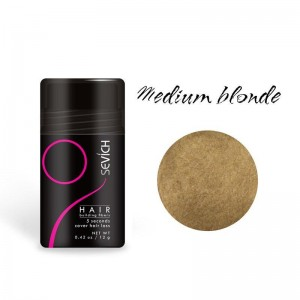 Загуститель для волос Sevich (средний-блонд), 12 гр