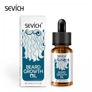 Масло для возобновления роста волос на бороде Sevich, 20 мл