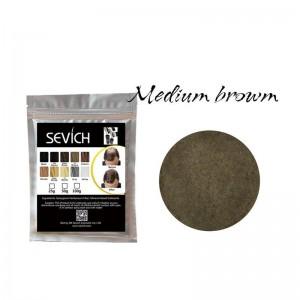Загуститель для волос средне-коричневый Sevich, 25 гр (рефил)
