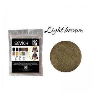 Загуститель для волос светло-коричневый Sevich, 25 гр (рефил)