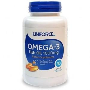 Uniforce Omega-3 1000 мг 90 капсул