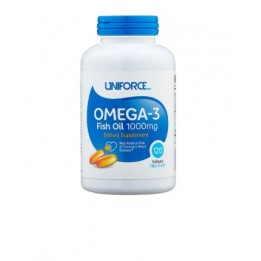 Купить Uniforce Omega-3 1000 мг 120 капсул фото