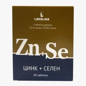 Цинк + Селен 40 таблеток, Леколайк