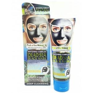 Очищающая черная маска-пленка с водорослями мертвого моря с витаминами А и Е, Wokali Black Mask