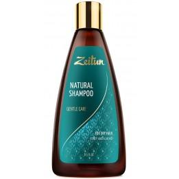 """Купить Шампунь Зейтун """"Нежное очищение"""" для сухих волос с медом и маслом миндаля 250 мл фото"""