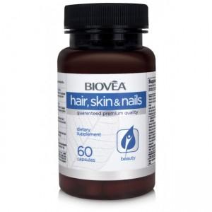 Biovea Hair, Skin & Nails 60 капсул