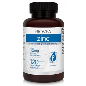 Biovea Цинк 15 мг 120 капсул