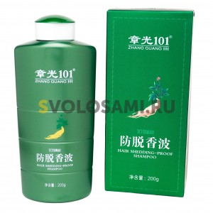Шампунь Fabao Zhangguang 101 Hair shedding proof shampoo для волос, 200 мл
