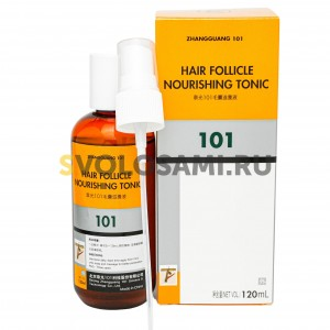Лосьон  Zhangguang 101 Hair Follicle Nourishing Tonic (export-packing) для волос, 120 мл