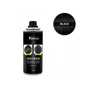 Спрей загуститель волос Kingyes (черный)